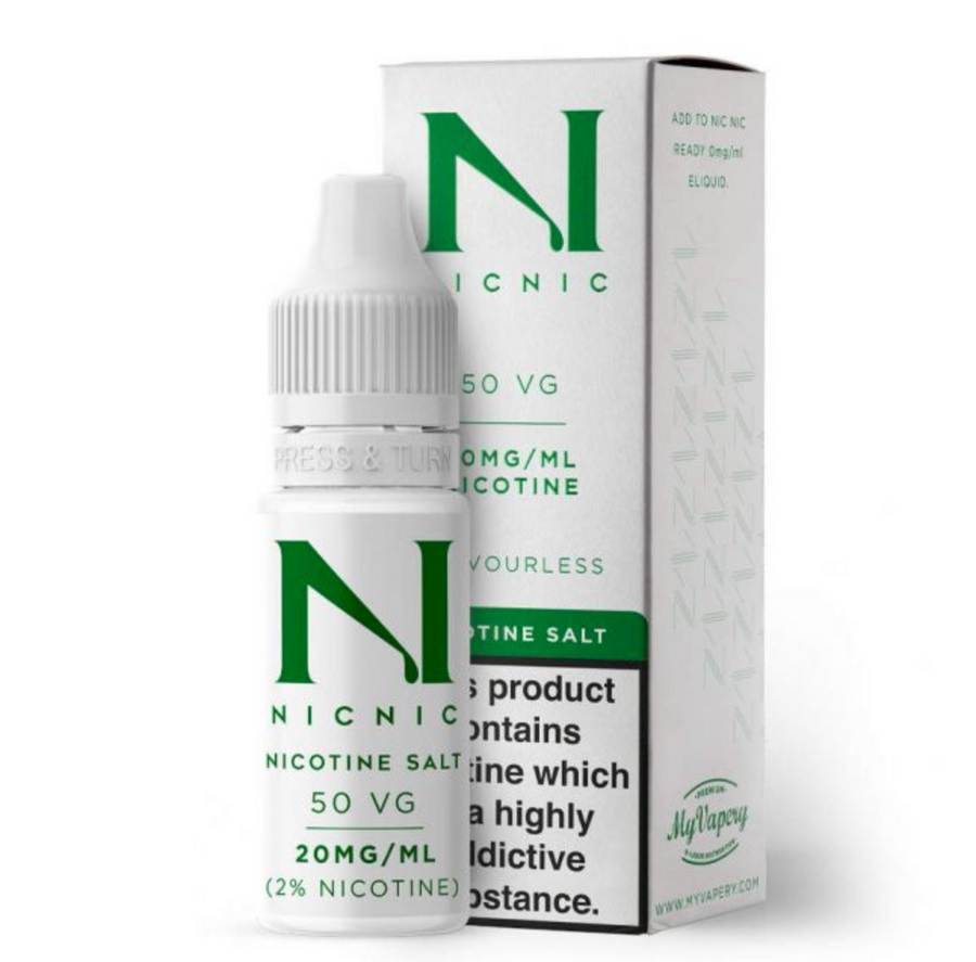 NicNic - Salt Shot - 10ml - 20mg - My Vape Store