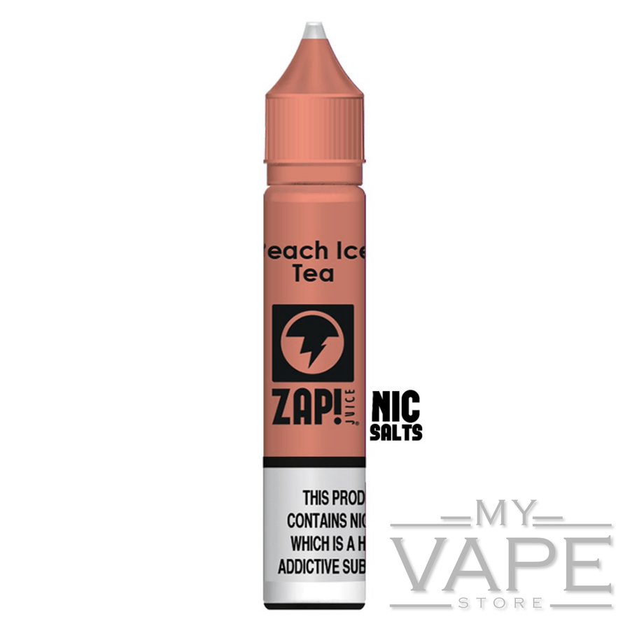 Zap Juice - Peach Ice Tea - Nic Salt - 10ml - My Vape Store UK