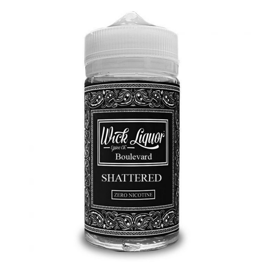 Wick Liquor - Juggernaut - Boulevard Shattered - 150ml shortfill - 0mg - My Vape Store