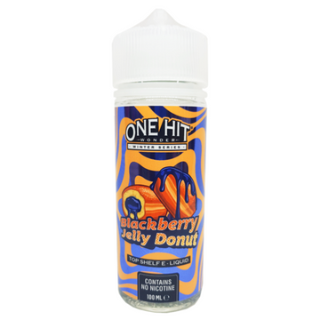 One Hit Wonder - Winter Series - Blackberry Jelly Donut - 100ml - 0mg - My Vape Store
