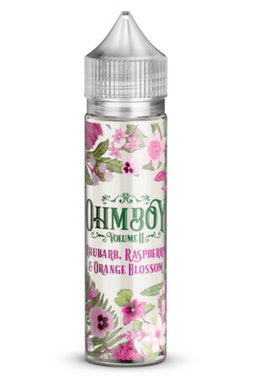 Ohm Boy Vol II - Rhubarb, Raspberry & Orange Blossom - 50ml - 0mg - My Vape Store