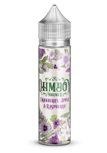 Ohm Boy Vol II - Cranberry, Apple & Raspberry - 50ml - 0mg - My Vape Store