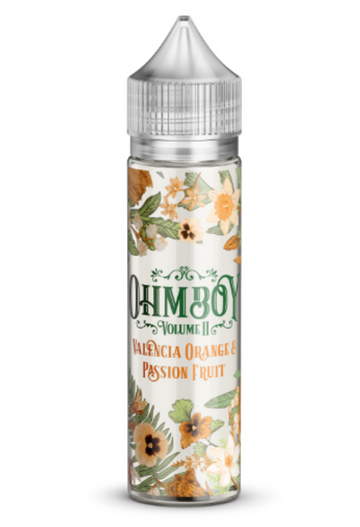 Ohm Boy Vol II - Valencia Orange & Passion Fruit - 50ml - 0mg - My Vape Store