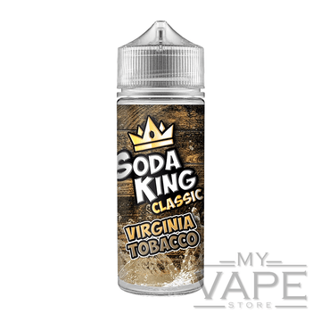 Soda King - Virgina Tobacco - 100ml - 0mg - My Vape Store