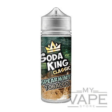 Soda King - Spearmint Tobacco - 100ml - 0mg - My Vape Store