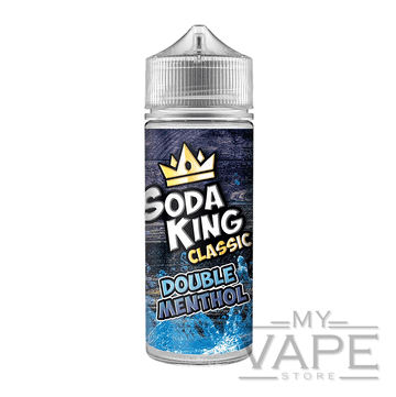 Soda King - Double Menthol - 100ml - 0mg - My Vape Store