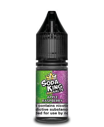 Soda King Duo - Apple & Raspberry - Nic Salt - 10ml - My Vape Store