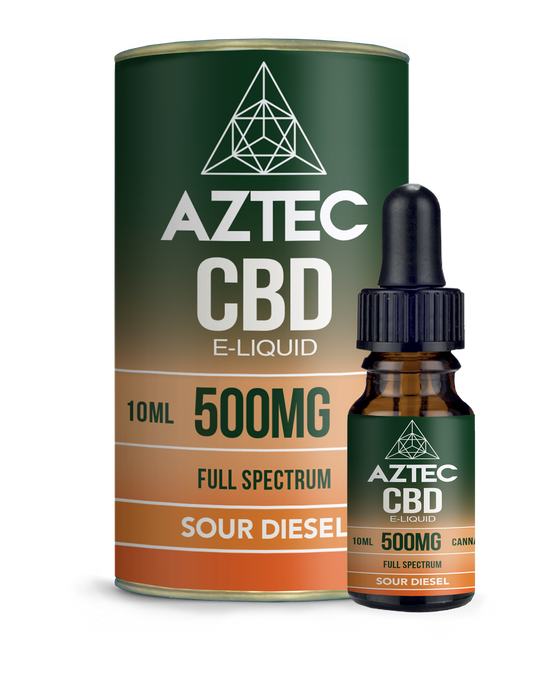 AZTEC CBD - Sour Diesel 10ml - My Vape Store UK
