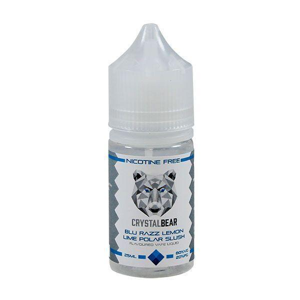 Crystal Bear - Blue Razz Lemon Lime - 25ml Shortfill - 0mg - My Vape Store UK