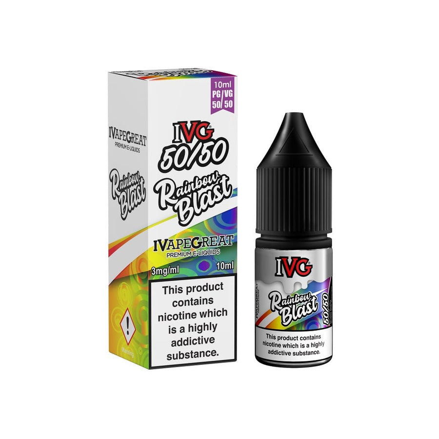 I VG - Rainbow Blast - 10ml - 50/50 - My Vape Store