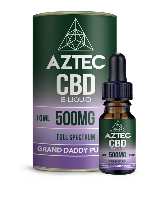 AZTEC CBD - Grand Daddy Purple 10ml - My Vape Store UK