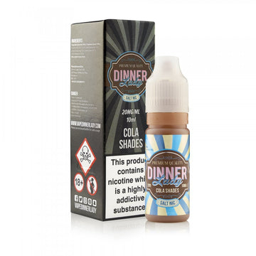Dinner Lady - Cola Shades - Iced - 20mg Nic Salt - 10ml - My Vape Store