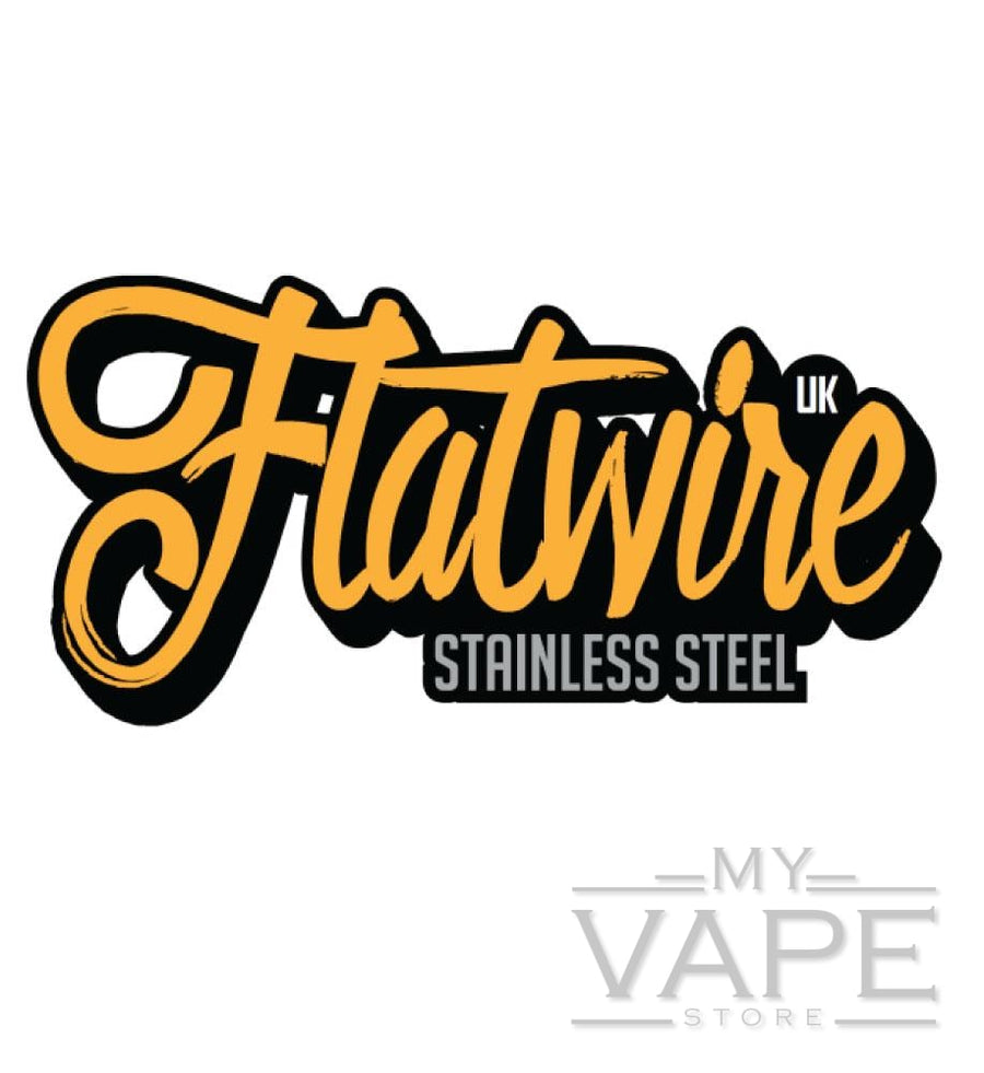 Flatwire UK - Stainless Steel Flat Wire - My Vape Store