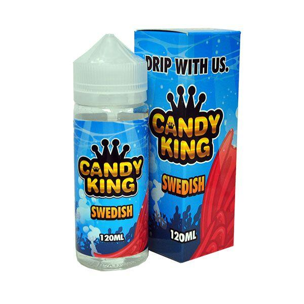 Candy King - Swedish - 100ml Shortfill - 0mg - My Vape Store