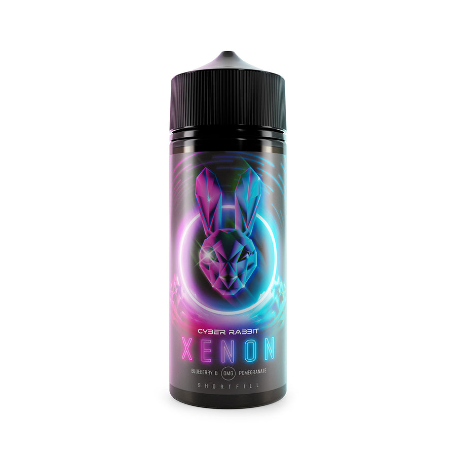 Cyber Rabbit - Xenon - 100ml - 0mg - My Vape Store UK
