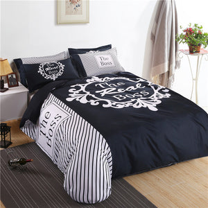 """The Real BOSS"" Bedding Set"
