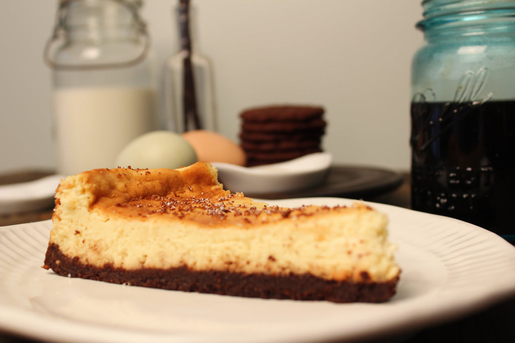 Graham Cracker Crust Cheesecake