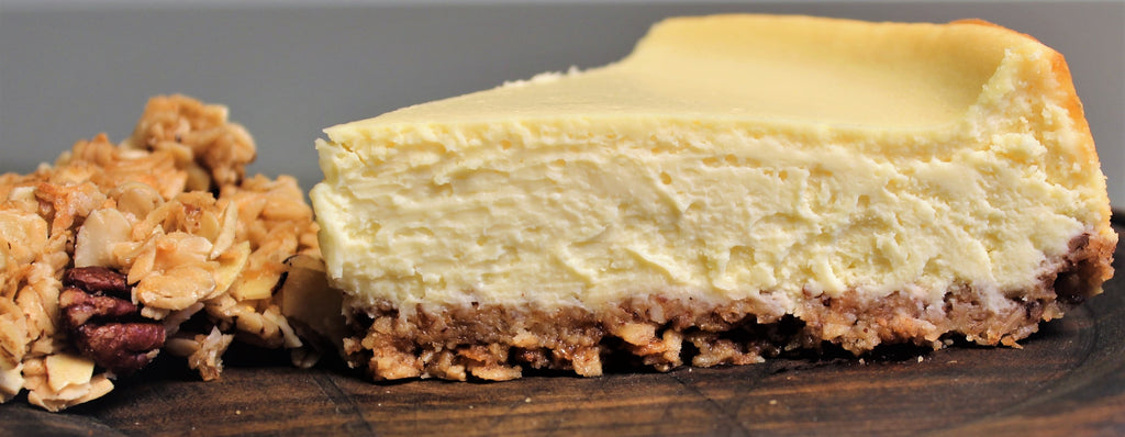 Sugar Cookie Crust Cheesecake