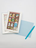 Kate Gavino Illustration Brownstone Note Cards Set