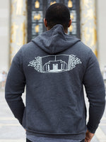 Central Seal Gray Hoodie