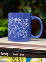 Book Buddies Mug by Eric Rosario