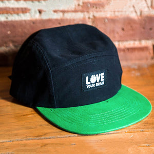 LoveYourBrain 5 Panel Hat