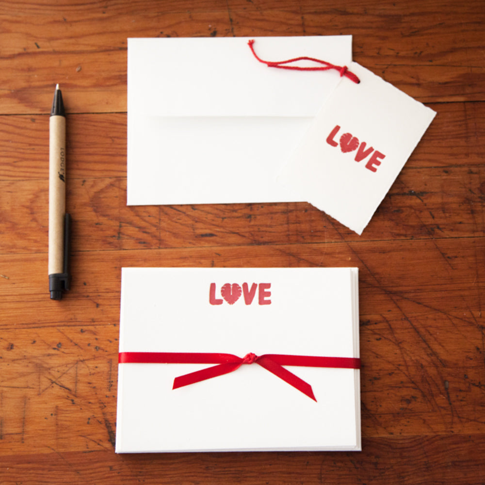 LOVE Card and Tag Set