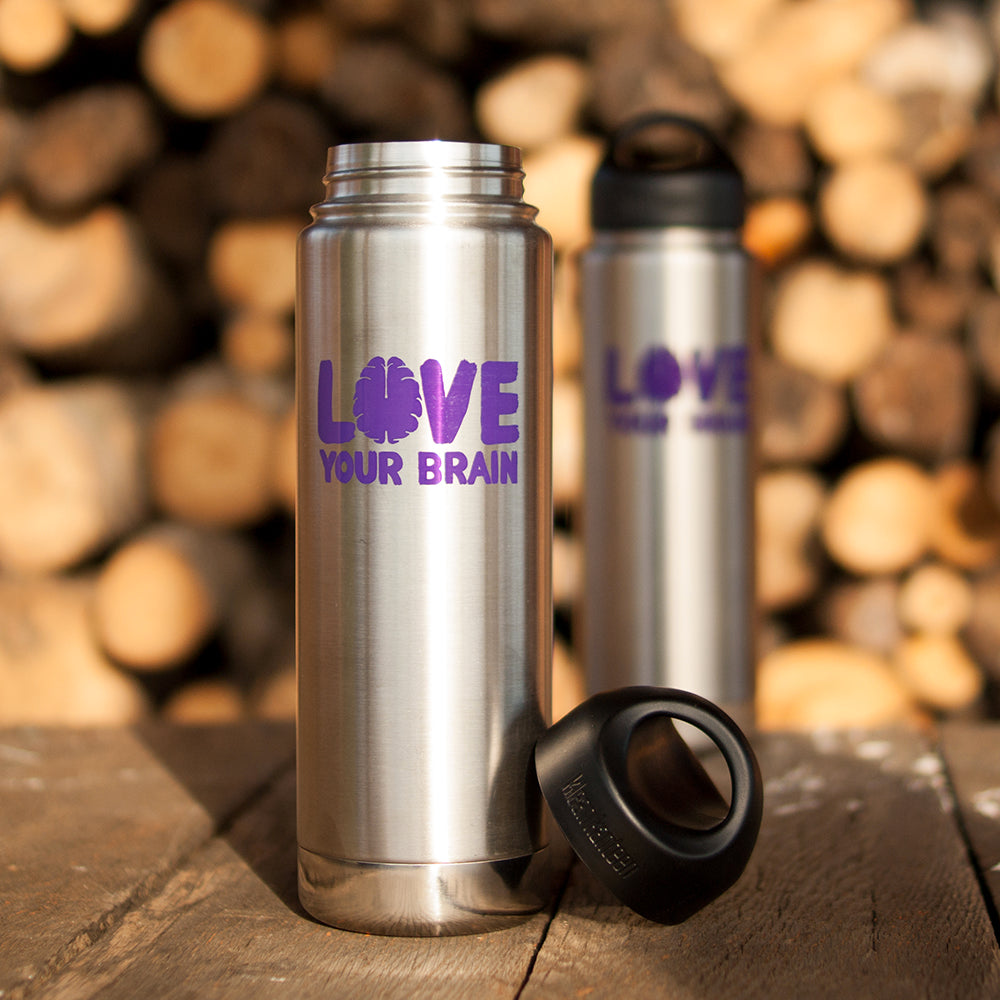 LoveYourBrain Insulated Water Bottles