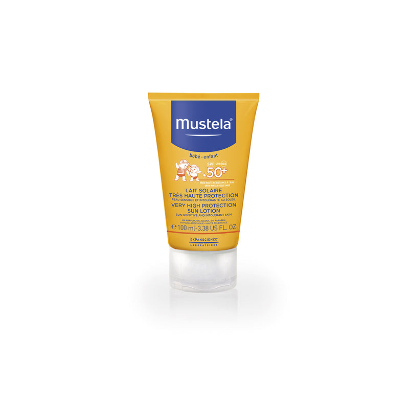 MUSTELA VERY HIGH PROTECTION SUN LOTION SPF 50+ 100MLCosmetics Online IE