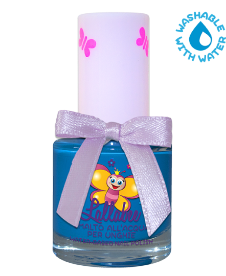 LALLABEE -Childrens Water-based nail polish ( 107 Bluffo) BLUECosmetics Online IE