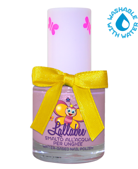 LALLABEE -Childrens Water-based nail polish (110 Polvere Magica) LILACCosmetics Online IE