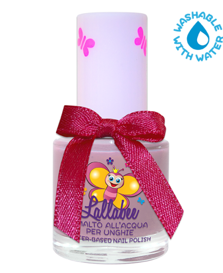 LALLABEE -Childrens Water-based nail polish (111 Zucchero Filato) PURPLECosmetics Online IE