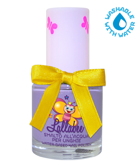 LALLABEE -Childrens Water-based nail polish ( 112 Lillina) LILACCosmetics Online IE