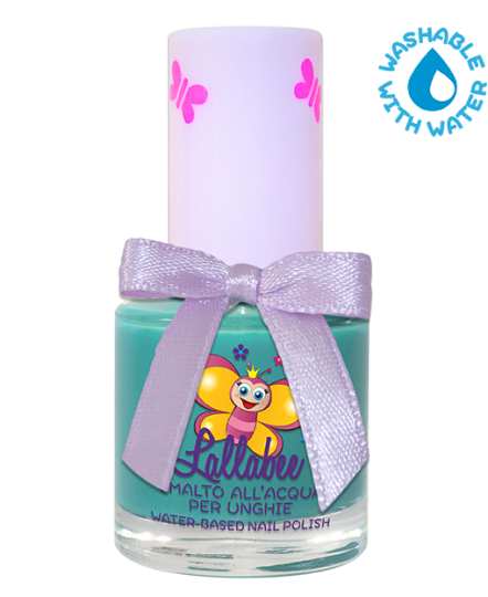 LALLABEE -Childrens Water-based nail polish (114 L'isola Che Non C'E' )TURQUOISECosmetics Online IE