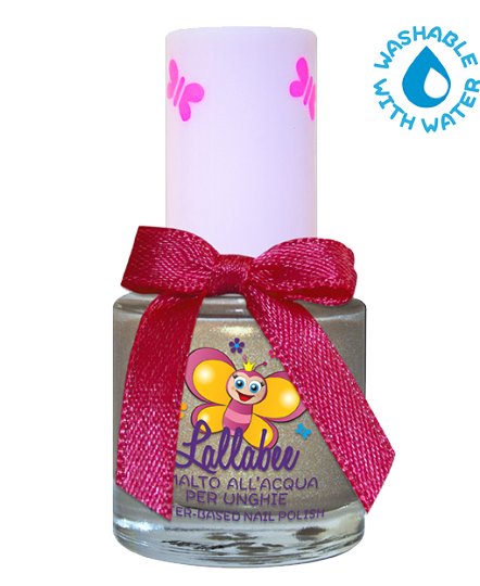 LALLABEE -Childrens Water-based nail polish (115 Stella Cometa)METALLICCosmetics Online IE