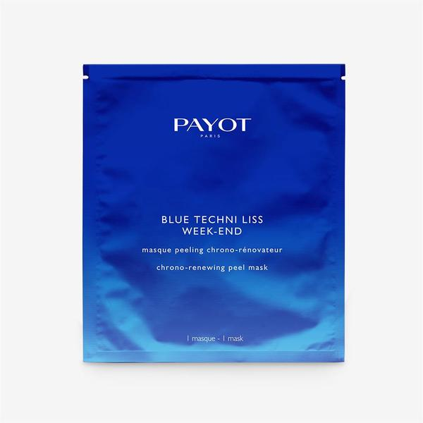Payot Blue Techni Liss Week-end Chrono-renewing Peel Mask - 10pcsCosmetics Online IE