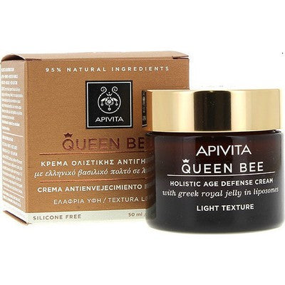 APIVITA-QUEEN BEE  Holistic Age Defense Cream Light Texture 50mlCosmetics Online IE