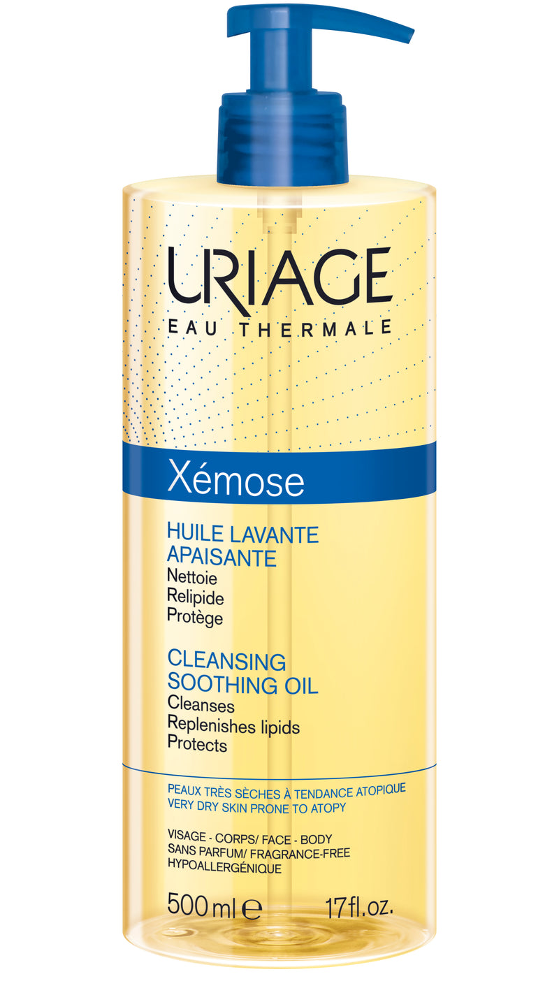 Uriage Xémose Soothing Cleansing Oil - 500ml - Cosmetics Online IE