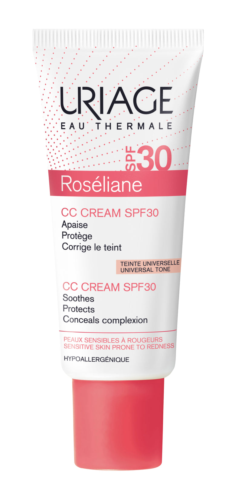 URIAGE ROSÉLIANE CC Cream SPF30 Skin Tone Corrector - 40ml - Cosmetics Online IE