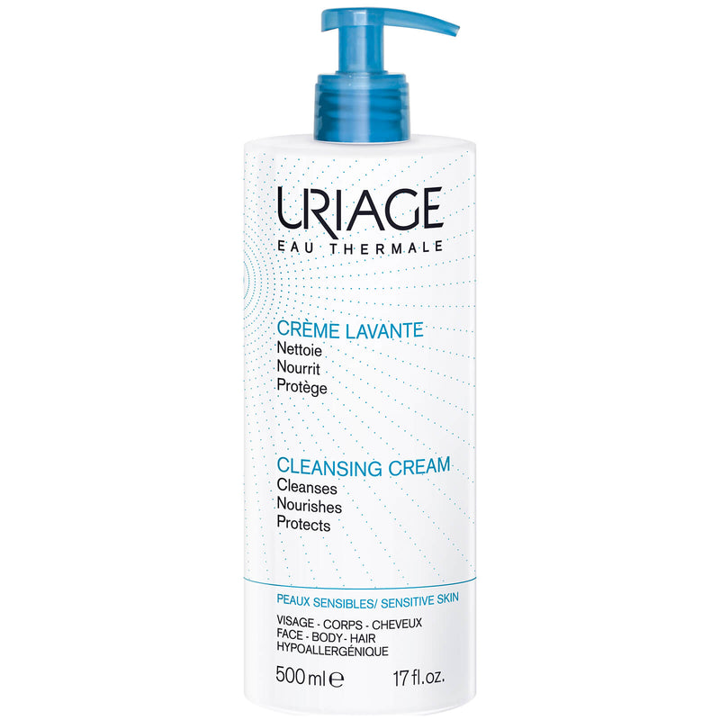 URIAGE CREME LAVANTE -NOURISHING AND CLEANSING CREAM 500MLCosmetics Online IE