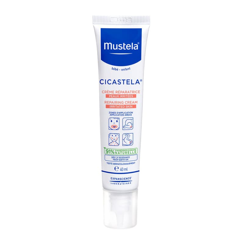MUSTELA CICASTELA REPAIRING CREAM IRRITATED SKIN 40ML
