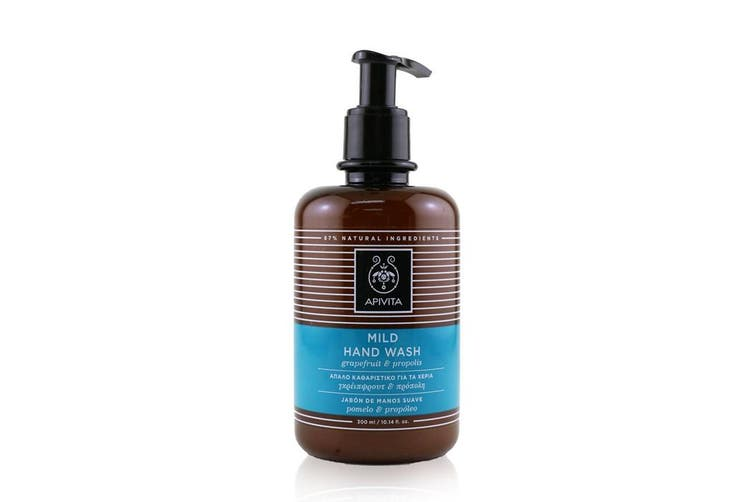 Apivita Hand Wash With Grapefruit & Propolis  300ml