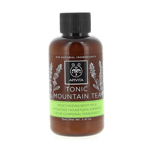 APIVITA MINI TONIC MOUNTAIN TEA SHOWER GEL 75ML