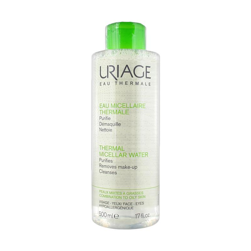 URIAGE Thermal Micellar Cleansing Water (Combination to Oily Skin) – 500mlCosmetics Online IE