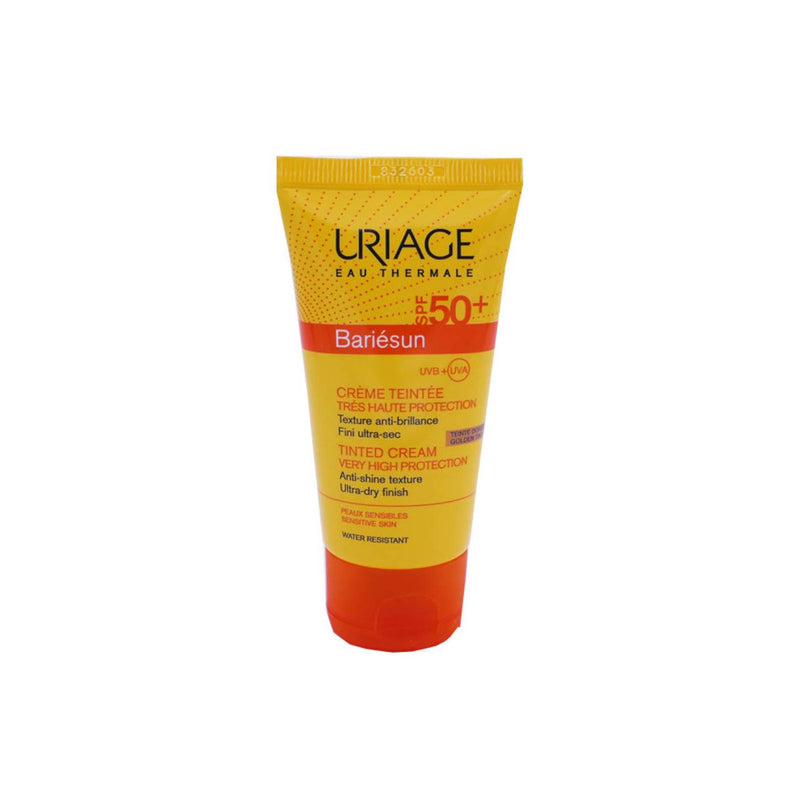 URIAGE BARIÉSUN TINTED CREAM SPF 50+ 50ML - COLOUR: GOLDENCosmetics Online IE