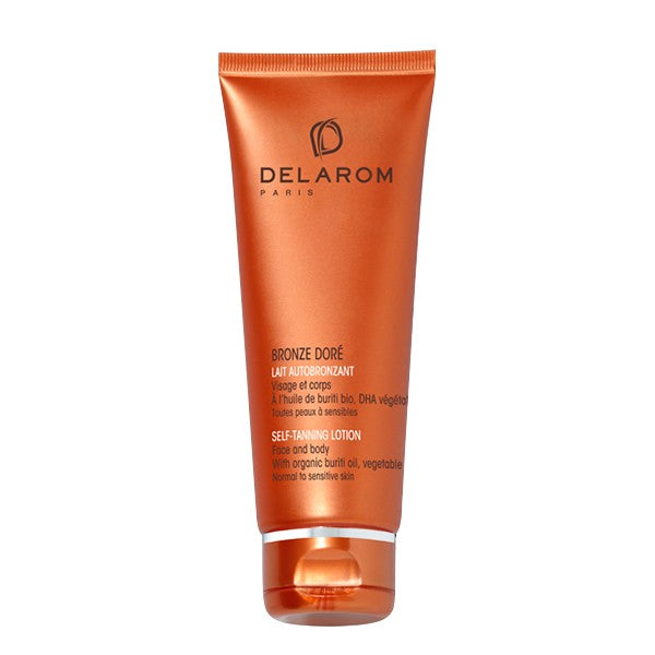 DELAROM BRONZE DORÉ SELF TANNING LOTION 125MLCosmetics Online IE