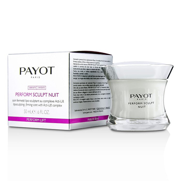 PAYOT PERFORM SCULPT NIGHT LIPOSCULPTING FIRMING CARE 50MLCosmetics Online IE