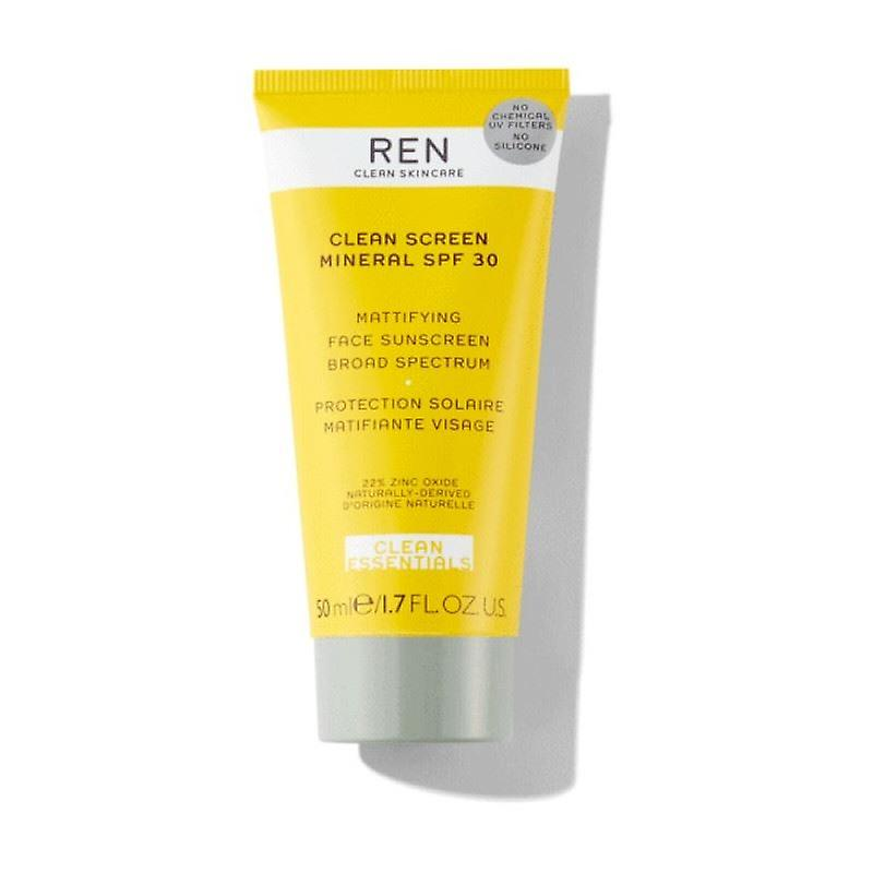 REN Clean Screen Mineral Sun Cream SPF30 50mlCosmetics Online IE