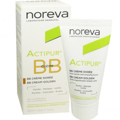 Noreva Actipur Tinted BB Cream - Golden 30ml