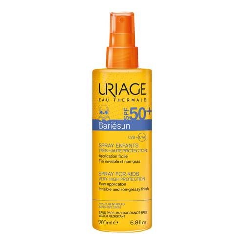 URIAGE BARIÉSUN CHILDREN SPF 50+ SPRAY 200MLCosmetics Online IE